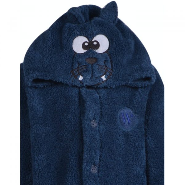 Woody Unisex kamerjas, petrolblauw