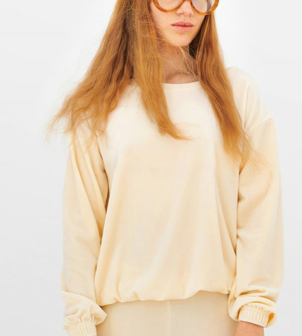 LORDS & LILIES Dames sweater en broek, gebroken wi