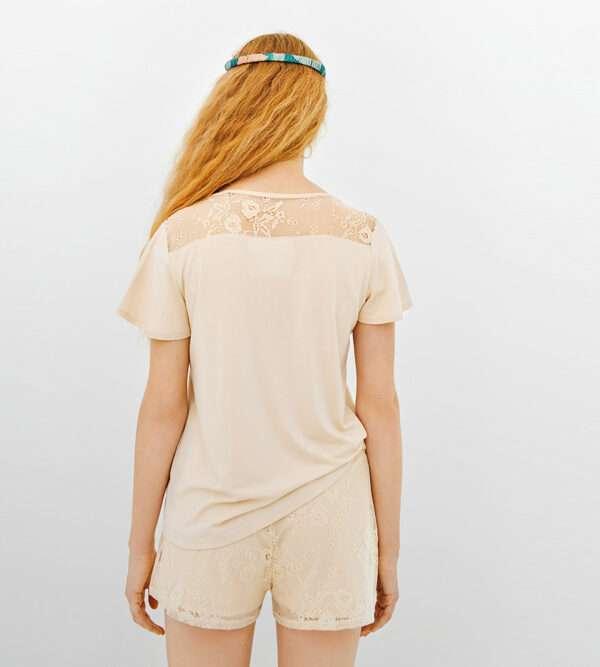 LORDS & LILIES Dames pyjama, beige