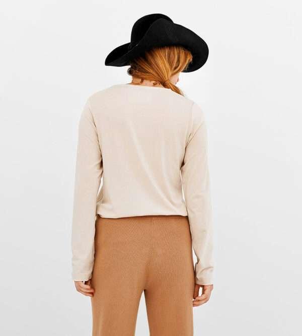 LORDS & LILIES Dames top, beige