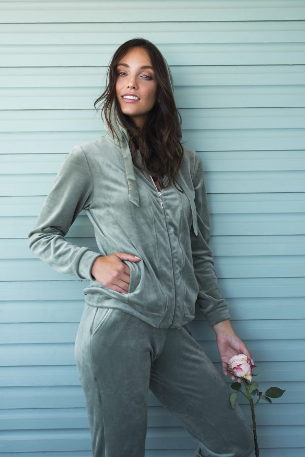LORDS & LILIES Dames homesuit, agave green