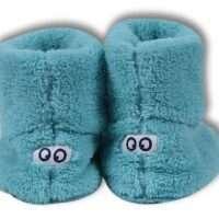Woody Unisex Pantoffels, ijsblauw