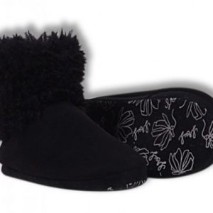LORDS & LILIES Dames Pantoffels, antraciet