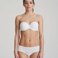 TOM wit mousse bh - strapless