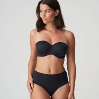 PERLE charbon mousse bh - strapless