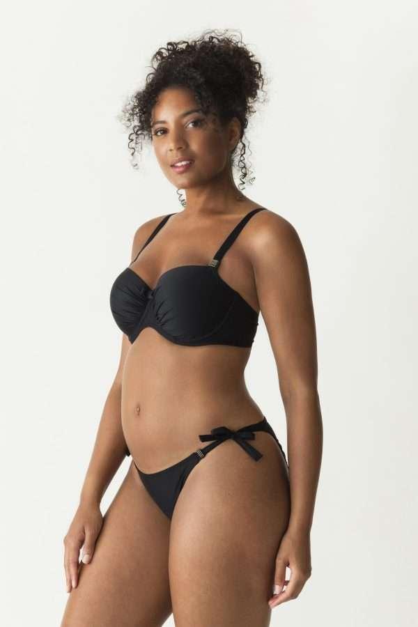 COCKTAIL zwart bikini balconnet bh mousse