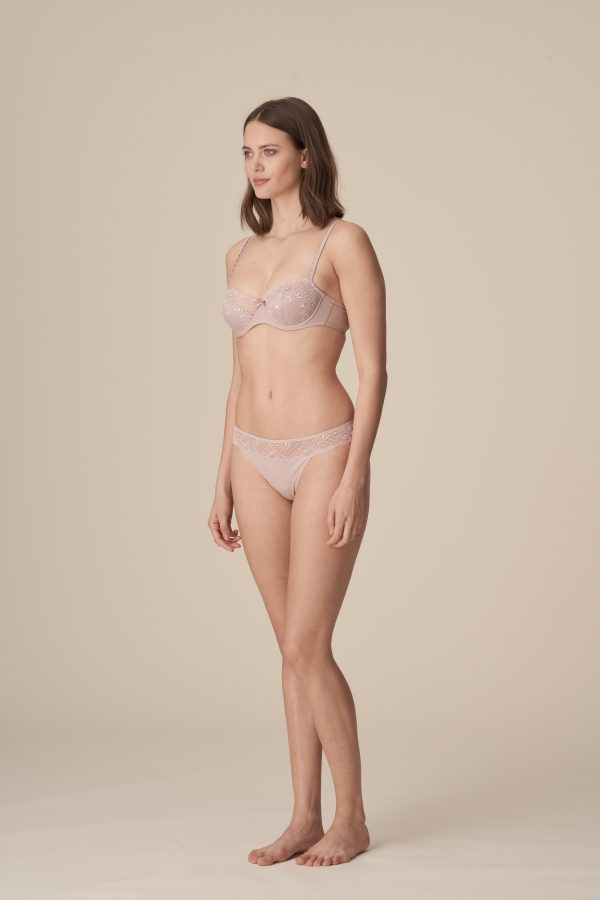 PEARL patine balconnet mousse met naad