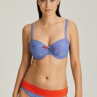 JACARANDA blue bikini slip met omslag