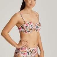 SIROCCO pink paradise bikini tailleslip met koordjes