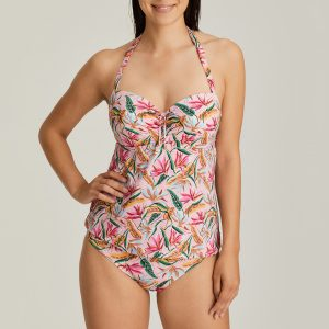 SIROCCO pink paradise tankini met mousse