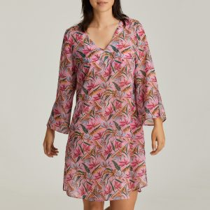 SIROCCO pink paradise badmode caftan