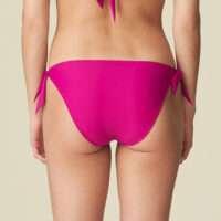 AURELIE wild rose bikini heupslip met koordjes