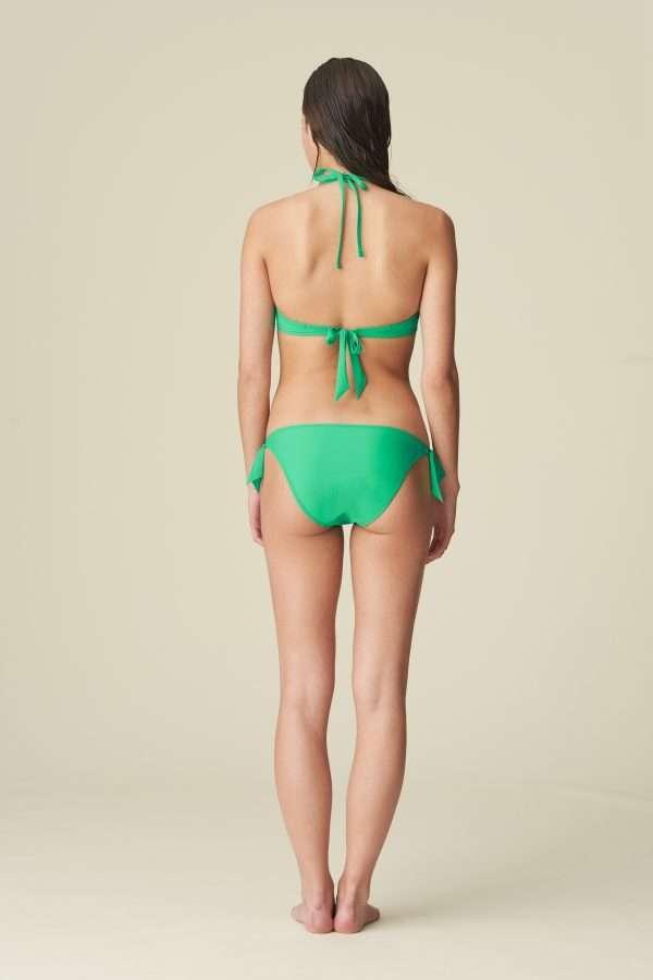 AURELIE Menta bikini heupslip met koordjes