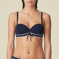 ANGELINE Water Blue bikini balconnet bh mousse