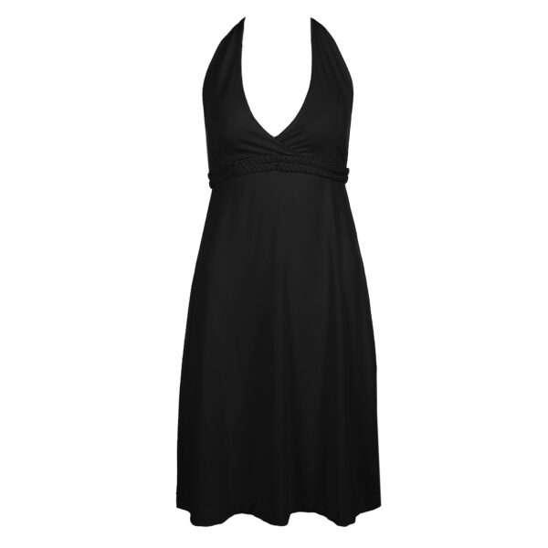 BLANCHE zwart badmode stretch jurkje