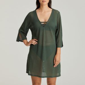 HOLIDAY dark olive badmode caftan
