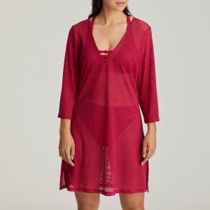HOLIDAY barollo rood badmode caftan