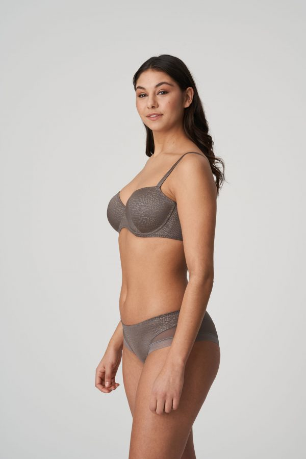 PICCADILLY Kitten grey balconnet bh met mousse cups