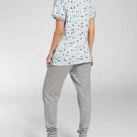 Cyell Pyjama Trousers Long / Shirt Short Sleeve