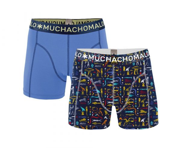Muchachomalo 2-PACK MEN SHORT PRINT