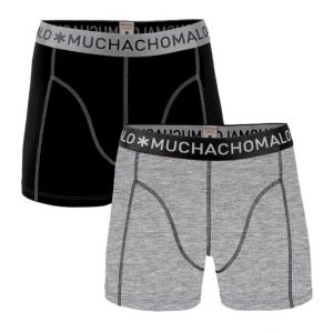 Muchachomalo MEN 2-PACK SHORT SOLID/SOLID