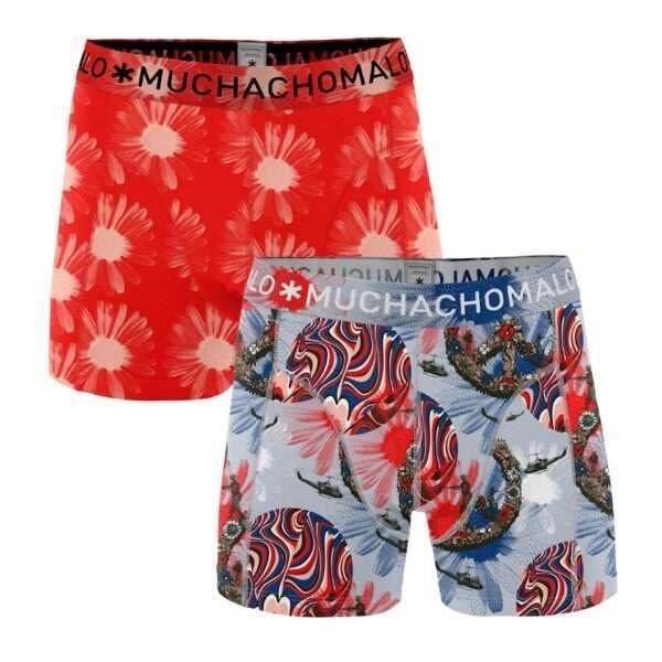Muchachomalo Men 2-pack shorts Flower Power