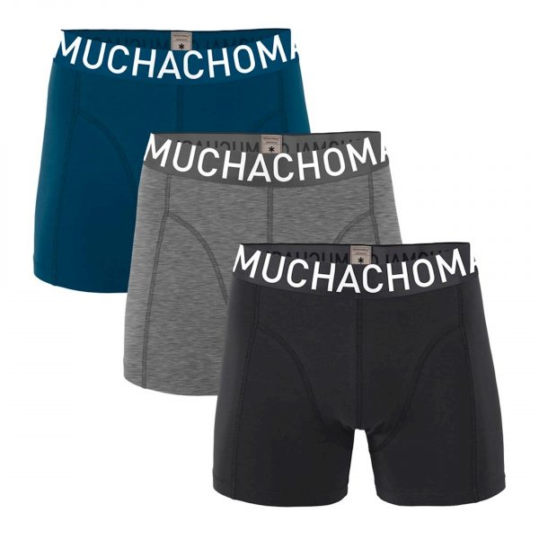 Muchachomalo Men 3-Pack Short Solid/Solid
