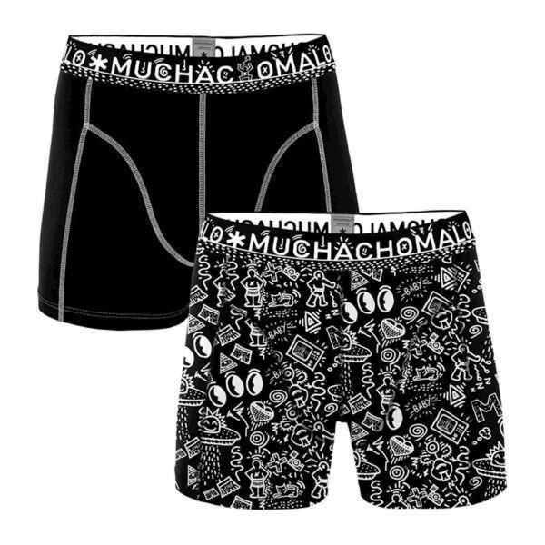 Muchachomalo Men 2-pack shorts Iconic Art
