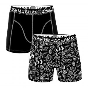 Muchachomalo Men 2-pack shorts Iconic Art