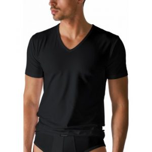 Shirt met V-hals Serie Dry Cotton