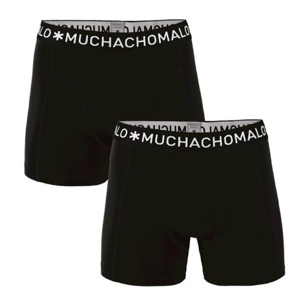 Muchachomalo MEN 2 PACK BOXER SOLID/SOLID
