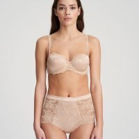 SYLVIA Glossy Sand balconnet bh met mousse cups